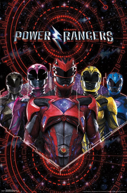 Image for Power Rangers Poster - Group