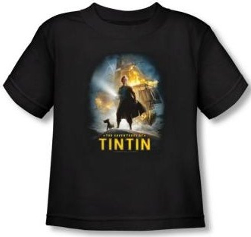 Image for The Adventures of Tintin Poster Toddler T-Shirt