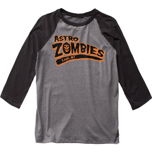 Image for The Misfits Astro Zombies 3/4 Sleeve Raglan T-Shirt