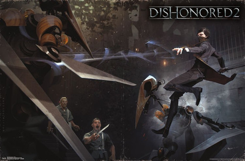 Image for Dishonored 2 Poster - Battle