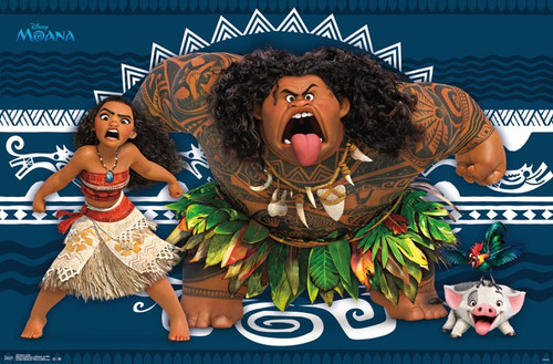 Image for Moana Poster - Faces