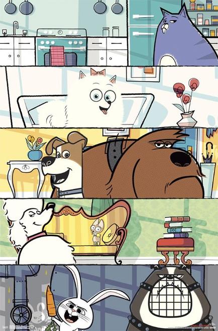 Image for Secret Life of Pets Poster - Grid