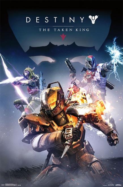 Image for Destiny Poster - Taken King Cover