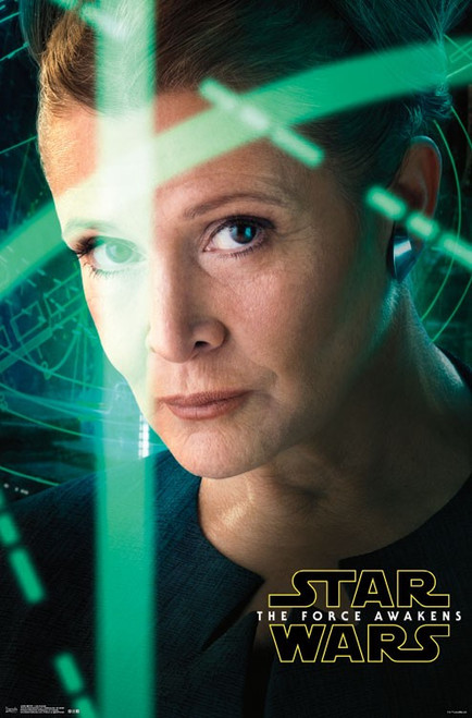 Image for Star Wars: The Force Awakens Poster - Leia Portrait