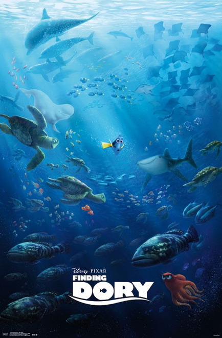 Image for Finding Dory Poster - One Sheet