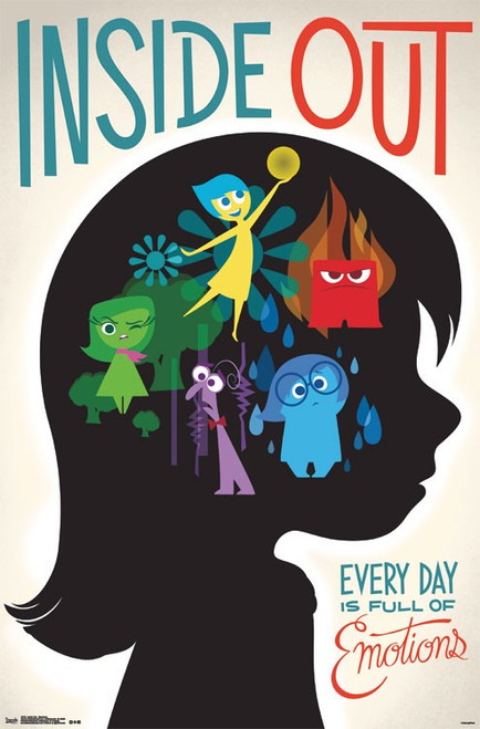 Image for Inside Out Poster - Emotions