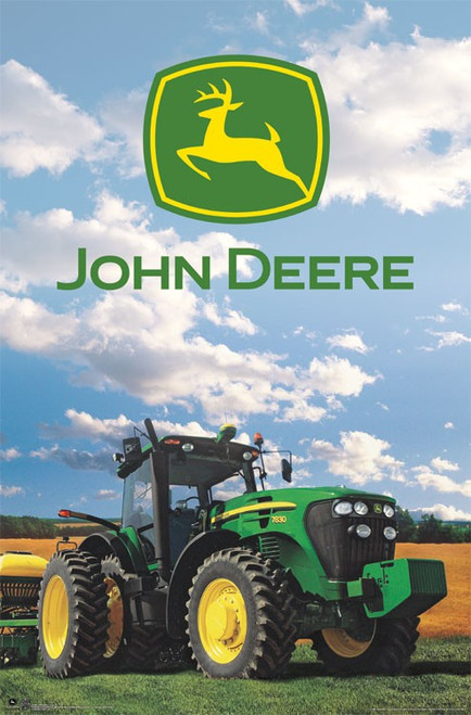 Image for John Deere Poster - Logo 14