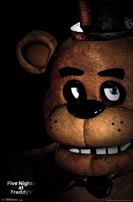Image for Five Nights at Freddy's Poster - Freddy