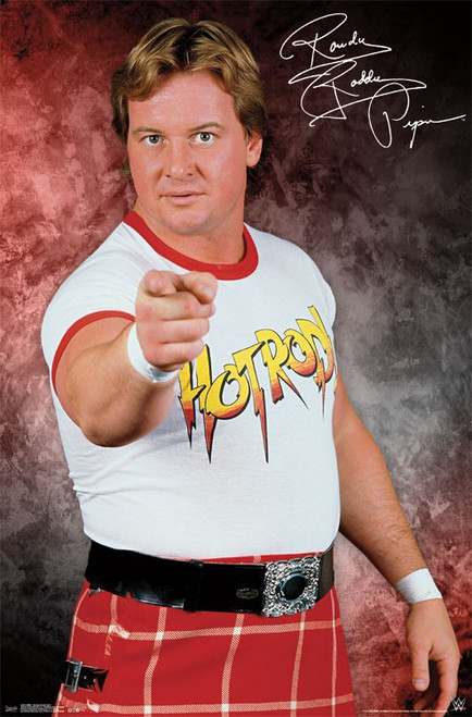 Image for WWE Poster - Rowdy Roddy Piper