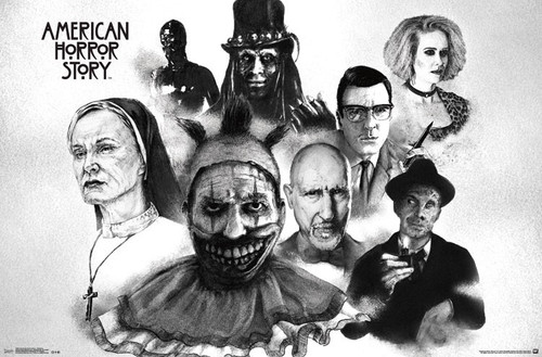 Image for American Horror Story Poster - Darkness