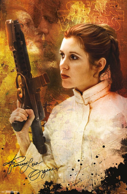 Image for Princess Leia Poster - Signature