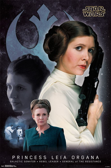 Image for Princess Leia Poster - Memory
