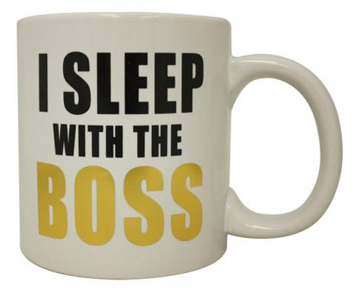 Image for I Sleep With The Boss Coffee Mug