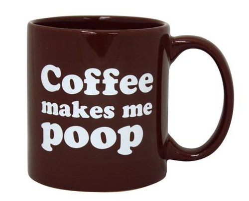 Image for Coffee Makes Me Poop Coffee Mug