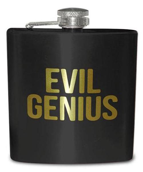 Close Up for Evil Genius Flask