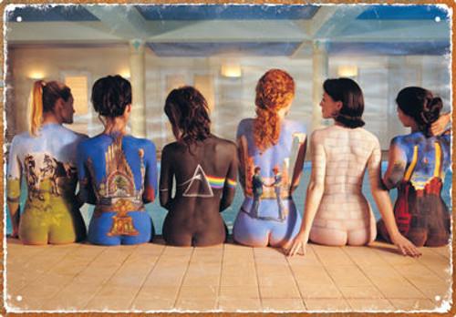 Image for Pink Floyd Tin Sign -Back Art