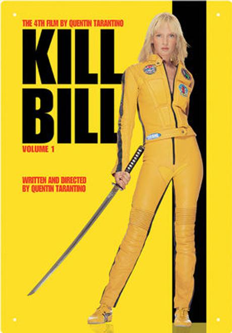 Image for Kill Bill Tin Sign - One Sheet