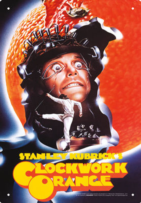 Image for A Clockwork Orange Tin Sign - One Sheet