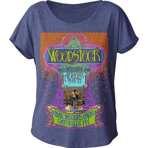 Image for Woodstock Max Yasgur's Farm Juniors Dolman