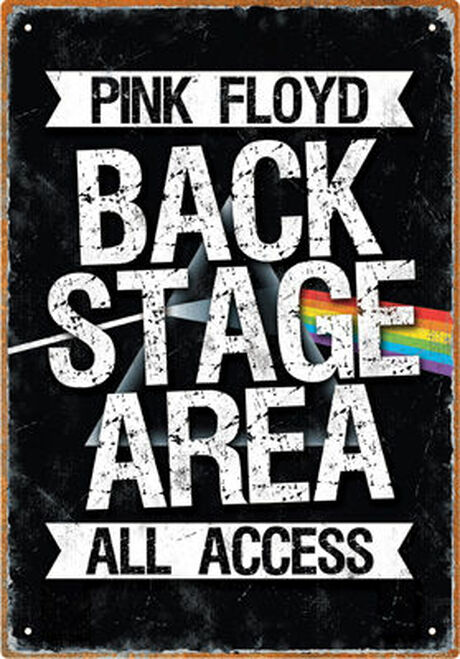 Image for Pink Floyd Tin Sign - Backstage Area