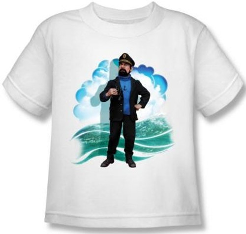 Image for The Adventures of Tintin Kids T-Shirt - Haddock
