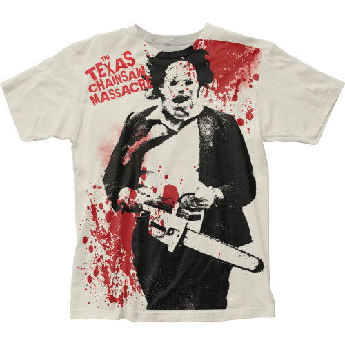 Image for Texas Chainsaw Massacre Subway T-Shirt - Splatter