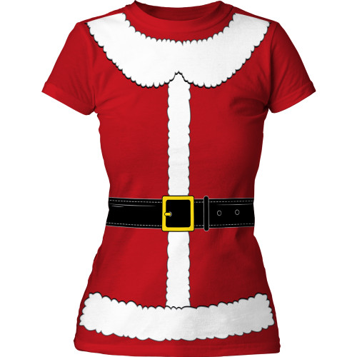 Image for Christmas Mrs. Claus Costume Girls T-Shirt