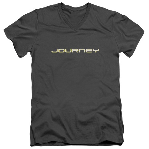 Image for Journey V Neck T-Shirt - Logo
