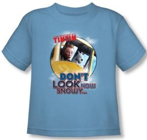 Image for The Adventures of Tintin Don't Look Now Toddler T-Shirt