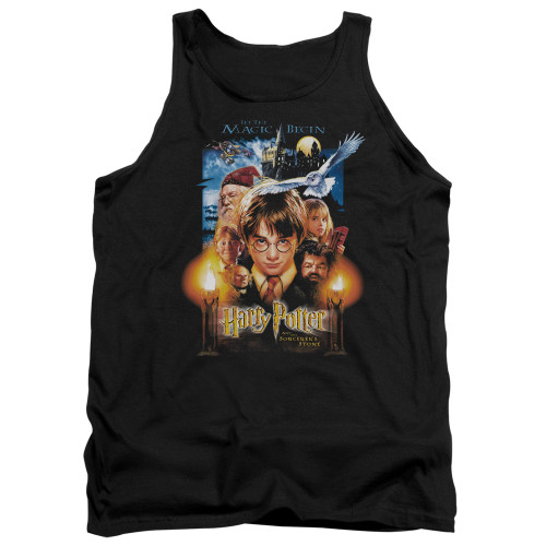 Image for Harry Potter Tank Top - Movie Poster