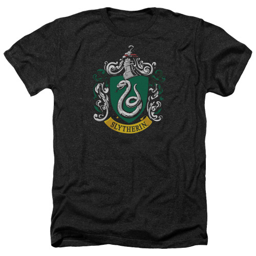 Image for Harry Potter Heather T-Shirt - Slytherin Crest