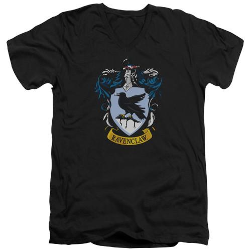 Image for Harry Potter V Neck T-Shirt - Ravenclaw Crest