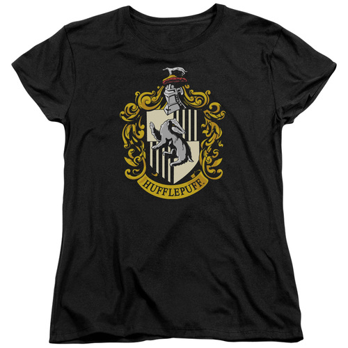 Image for Harry Potter Womans T-Shirt - Hufflepuff Crest