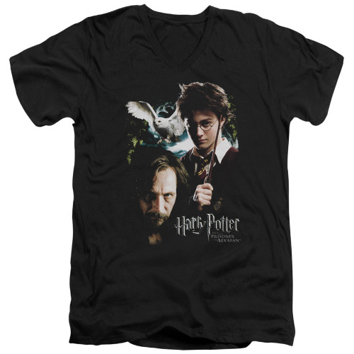 Image for Harry Potter V Neck T-Shirt - Harry and Sirius