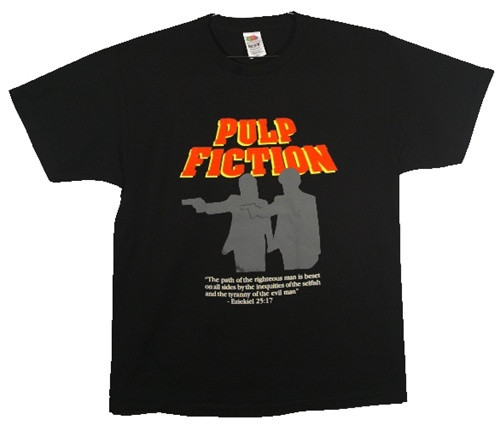 Image Closeup for Pulp Fiction Divine T-Shirt