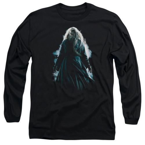 Image for Harry Potter Long Sleeve Shirt - Dumbledore Burst