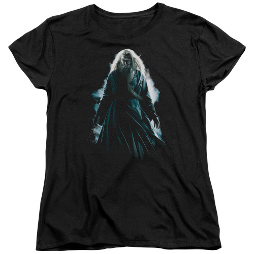 Image for Harry Potter Womans T-Shirt - Dumbledore Burst