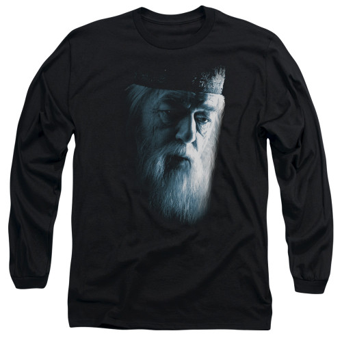 Image for Harry Potter Long Sleeve Shirt - Dumbledore Face