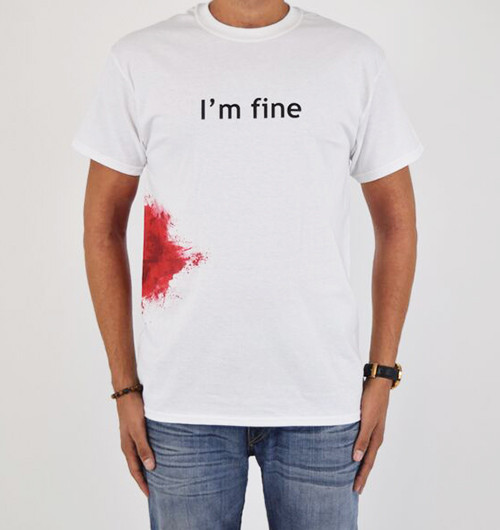 Image for Zombie T-Shirt - I'm Fine