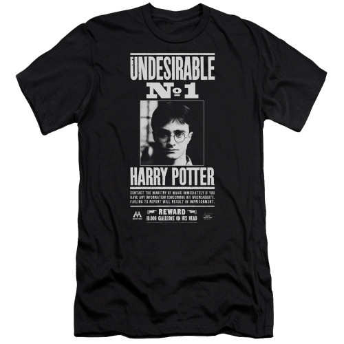 Image for Harry Potter Premium Canvas Premium Shirt - Undesirable No. 1