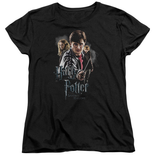 Image for Harry Potter Womans T-Shirt - Deathly Hollows Cast