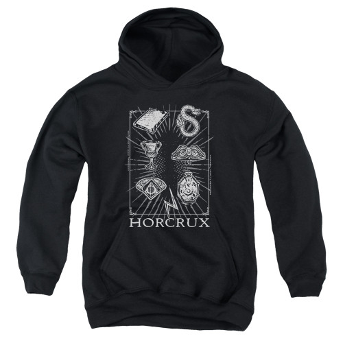 Image for Harry Potter Youth Hoodie - Horcrux Symbols