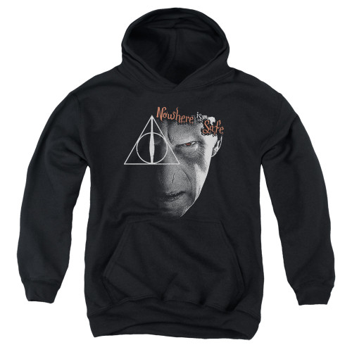 Image for Harry Potter Youth Hoodie - Nowhere is Safe