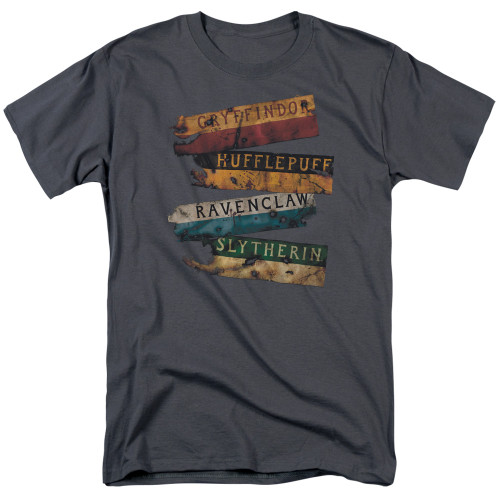 Image for Harry Potter T-Shirt - Burnt Banners