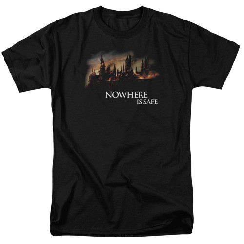 Image for Harry Potter T-Shirt - Burning Hogwarts