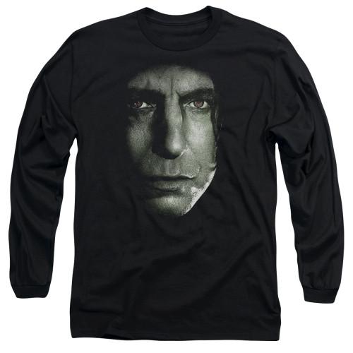 Image for Harry Potter Long Sleeve Shirt - Snape Head