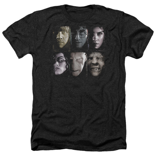 Image for Harry Potter Heather T-Shirt - Horizontal Heads
