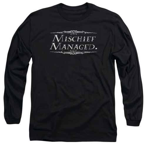 Image for Harry Potter Long Sleeve Shirt - Mischief Managed