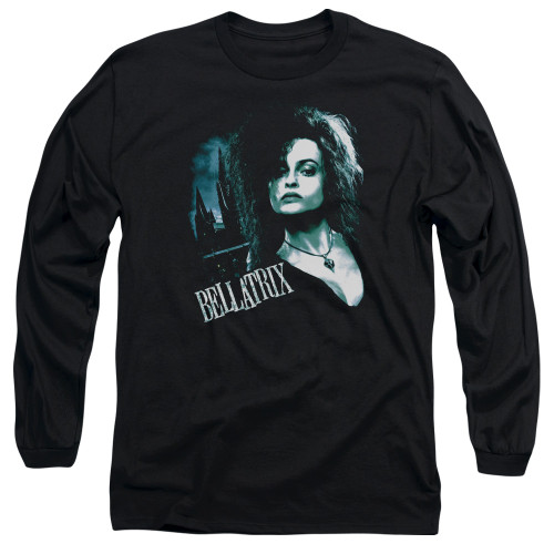 Image for Harry Potter Long Sleeve Shirt - Bellatrix Closeup