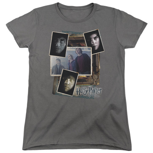 Image for Harry Potter Womans T-Shirt - Trio Collage